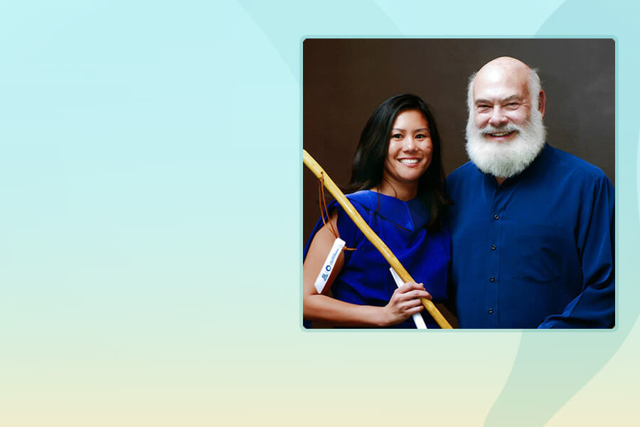 Dr. Chua with Dr. Andrew Weil at The University of Arizona Center for Integrative Medicine